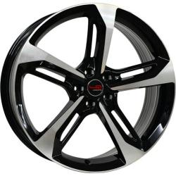 Диск колесный LegeArtis Реплика Concept-A513 8xR18 5x112 ET47 ЦО66.6 черный глянцевый с полированной лицевой частью 9145158