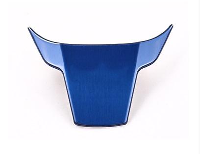 Декоративная накладка на руль (синяя) для Honda C-RV 2017-