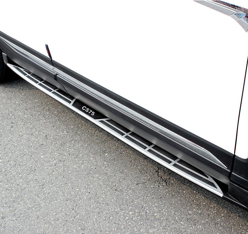 Пороги, боковые подножки OEM для Changan CS75 2015 -