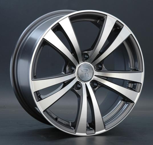 Диск колесный Replay B92 7,5xR17 5x120 ET14 ЦО72,6 серый глянцевый с полированной лицевой частью 000458-160023001 колесный диск replay b92