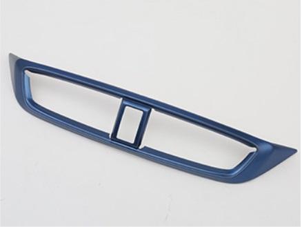 Накладка на центральный воздуховод (синяя) Honda CRV 2020-