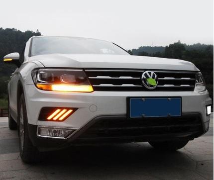 Дневные ходовые огни (ДХО) для Volkswagen Tiguan 2017- дневные ходовые огни дхо для volkswagen tiguan 2017