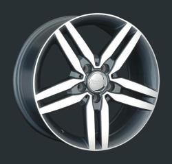 Диск колесный LS Replay MR130 8xR17 5x112 ET38 ЦО66.6 серый глянцевый с полированной лицевой частью S025653