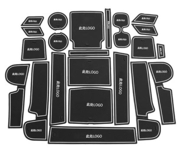 Фото - Коврики в салонные ниши 23 элемента (светоотражающие) Honda CRV 2020- коврики в салонные ниши для geely atlas 2018