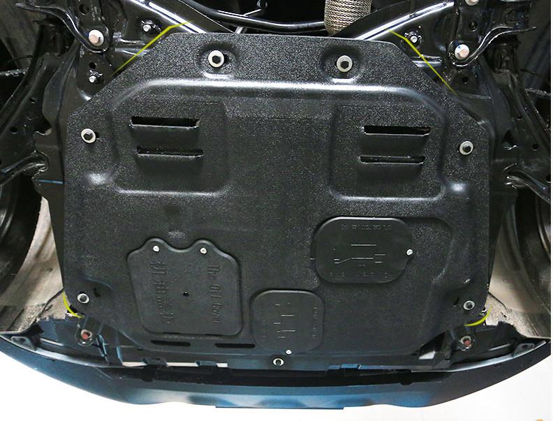 Защита двигателя пластиковая для Haval F7 (Хавал Ф7) 2018, 2019, 2020 защита картера и кпп стальная chn для haval f7 хавал ф7 2018