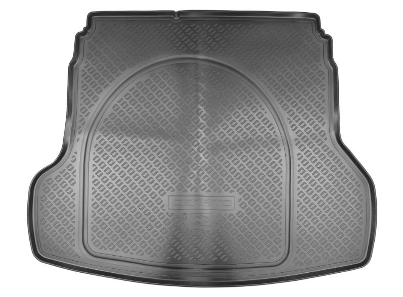 Фото - Коврик багажника Hyundai/KIA резина черный R8570M6000 KIA Cerato (4G) 2018- органайзер kia для kia cerato 2018 2019