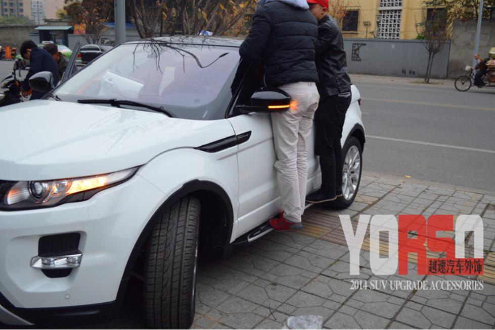 Боковые подножки, пороги CHN для Land Rover Range Rover Evoque 2015 -
