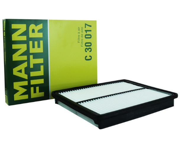 Воздушный фильтр Mann Filter C30017 для Санта Фе 4 (Hyundai Santa Fe 2018 - 2019) фильтр топливный mann filter для mitsubishi colt vi 04