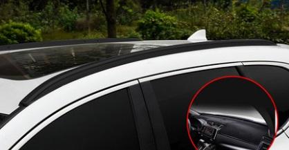 Рейлинги на крышу (черная) для Honda C-RV 2017-