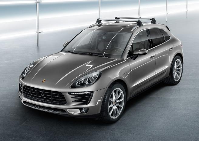 Багажные дуги, поперечины Porsche для Macan 2013 -