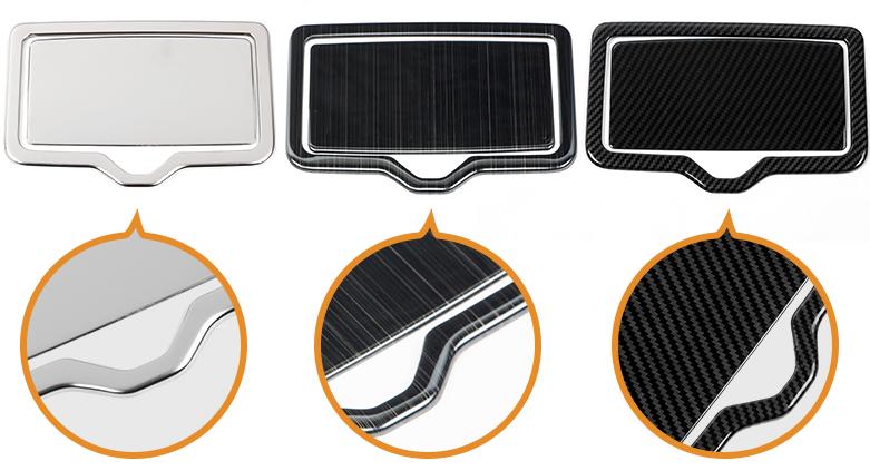 Накладка на задние подстаканники для AUDI Q7 2016 - брызговики передние и задние для audi q7 2016