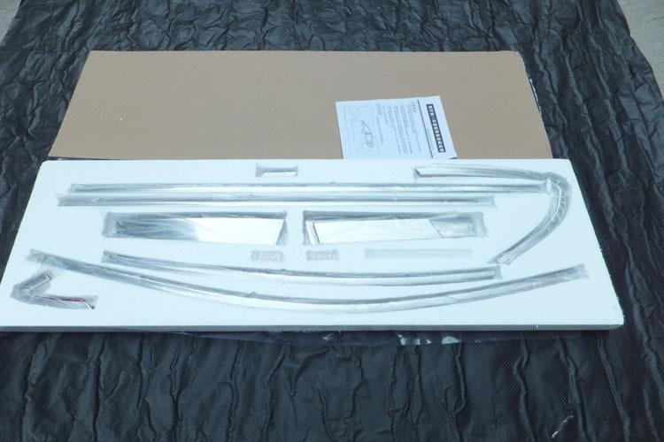 Пакет хрома на окна для Subaru XV (2011 - 2017)