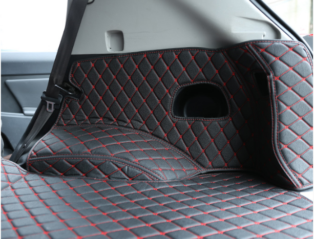 3D коврики в багажник ( эко кожа ) CHN для Kia Sportage III 2010-2015