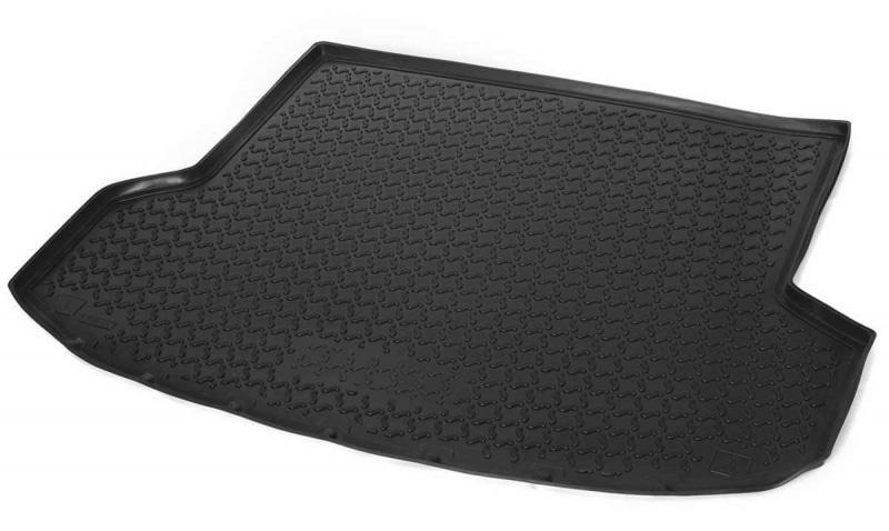 Коврики в багажник Rival полиуретан черный 12304002 Hyundai ix35 2010-, рест. 2013-