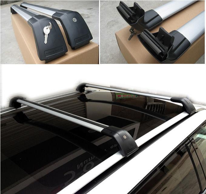 Поперечины для багажника, на рейлинги VPLVR0073 Land Rover Range Rover Evoque 2011 - защита картера и кпп алюминиевая rival для land rover range rover evoque 2011