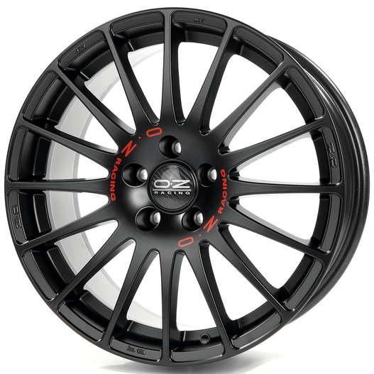 Диск колесный OZ Superturismo GT 7,5xR17 5x112 ET35 ЦО75 черный матовый W0168120079