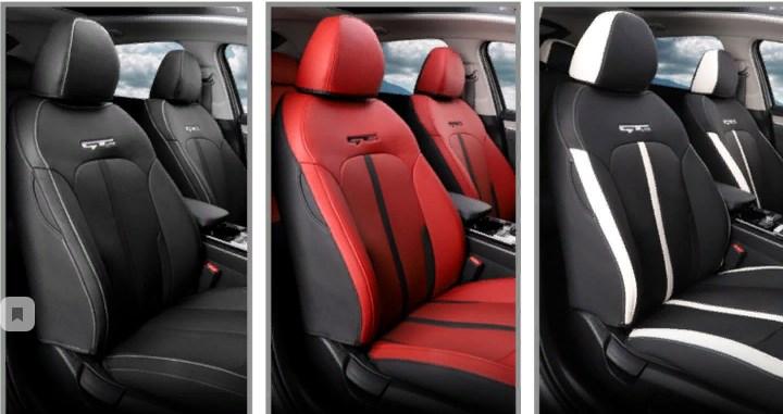 Чехлы на сиденья с универсальными подушками GT-line KIA K5 2020-