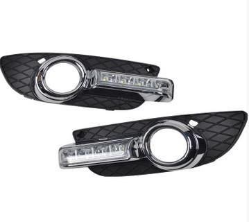 Штатные светодиодные дневные ходовые огни (ДХО), комлект. OEM DRL DRL21722 для Mitsubishi Lancer 2007 - штатные светодиодные дневные ходовые огни дхо комлект oem drl drl19791 для ford focus iii 2011 2015