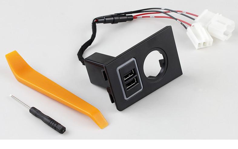 Фото - Двойной USB-разъем в блок прикуривателя CHN для SKODA Kodiaq (2017 - по н. в.) противоугонный замок гарант блок люкс 923 для skoda