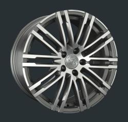 Диск колесный LS Replay PR13 8xR18 5x112 ET21 ЦО66.6 серый глянцевый с полированной лицевой частью S032264