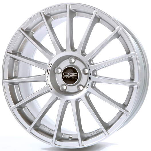 Диск колесный OZ Superturismo LM 7,5xR17 5x114,3 ET45 ЦО75 серебристый W0188120419