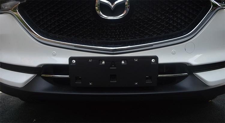 Хромированные накладки на нижнюю решетку радиатора для Mazda CX-5 2017 - хромированные накладки на нижнюю часть боковых зеркал chn для mazda cx 5 2017