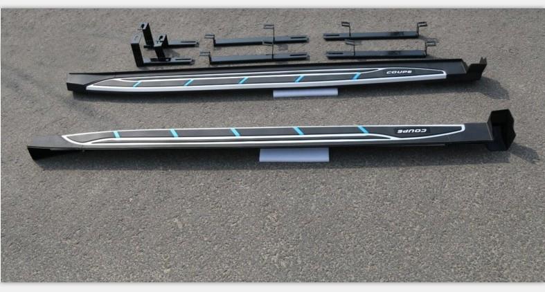 Пороги, боковые подножки Coupe для HAVAL H6