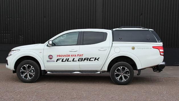 Кунг (металлический, крашеный) Sammitr S-Plus-V4/FULLBACK для Fiat Fullback 2016 -