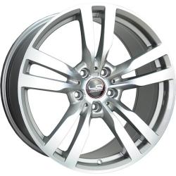 Диск колесный LegeArtis Реплика B99 10xR19 5x120 ET53 ЦО74.1 серебристый с полированной лицевой частью 9140730