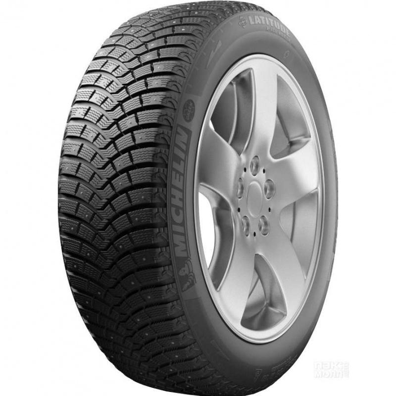 Шина автомобильная Michelin LATITUDE X- ICE NORTH 2+ 285/60 R18, зимняя, шипованная летние шины michelin 265 60 r18 109h latitude tour hp