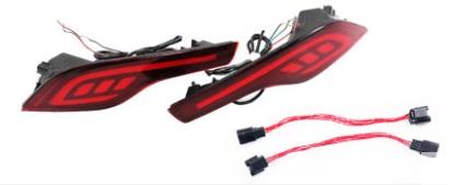 Светодиодные задние фонари для Honda C-RV 2017-