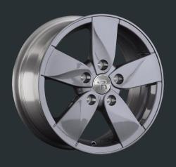 Диск колесный LS Replay RN45 6.5xR15 5x114.3 ET43 ЦО66.1 серый темный глянцевый 826860