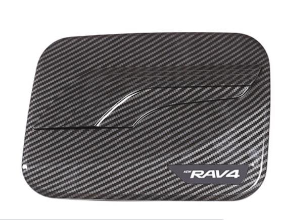 Крышка на топливный баг черная Toyota RAV4 2019-