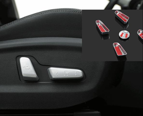 Декоративные накладки на кнопки управления сиденьями для KIA Sportage IV 2016 - декоративные накладки на кнопки руля chn для kia rio 2017