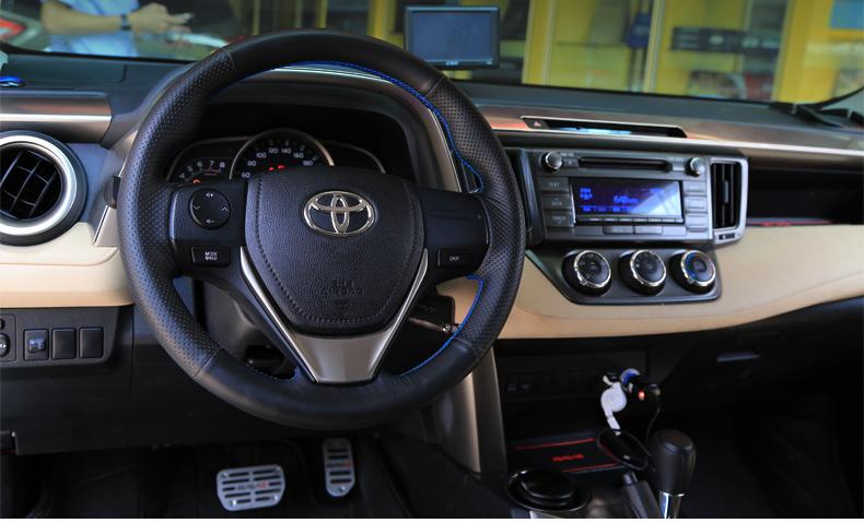оплетка руля для ford ecosport 2013 2018 Оплетка руля для Toyota RAV4 (2013 - 2015)