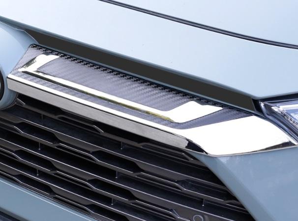 Декоративные накладки на радиатор Toyota RAV4 2019-