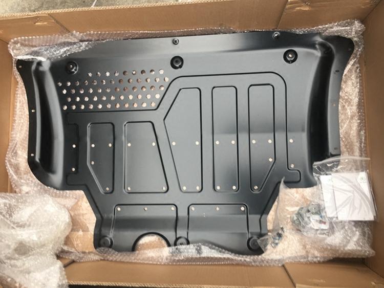 Фото - Защита картера двигателя и кпп Original Part стальная для SKODA Kodiaq защита картера и кпп автоброня для lexus nx 200 2014 н в сталь 2 мм 111 03211 1