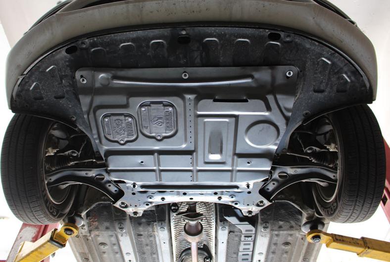 Фото - Защита картера двигатели и кпп, стальная CHN для KIA RIO 2017 - защита картера и кпп автоброня для lexus nx 200 2014 н в сталь 2 мм 111 03211 1