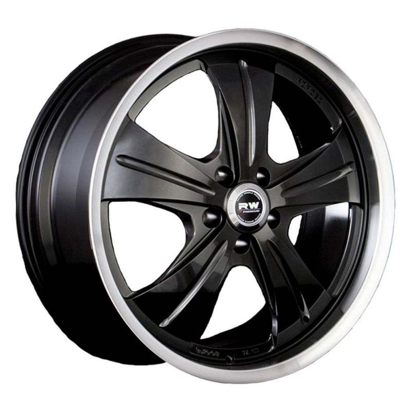 Диск колесный RW НF-611 10xR22 5x120 ЕТ45 ЦО74.1 черный матовый 85636297741