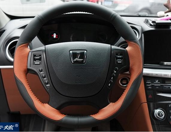 Оплетка руля кожаная для Luxgen SUV