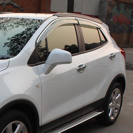 Дефлекторы хромированные для Opel Mokka 2012 - 2016