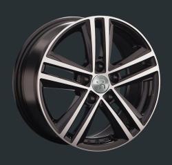 Диск колесный LS Replay SK67 7.5xR17 5x112 ET49 ЦО57.1 черный глянцевый с полированной лицевой частью S032602
