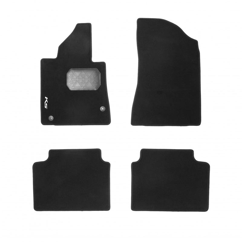 Коврики в салон Hyundai/Kia текстиль черный R8140L2100 Kia K5 (3G) 2020- коврики в салон hyundai kia велюр черный a2143ade00st kia ceed 3g 2018