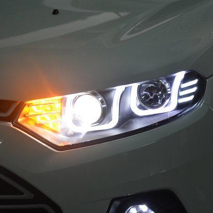 Фото - Передняя оптика LED LONG LIGHT для Ford Ecosport оптика