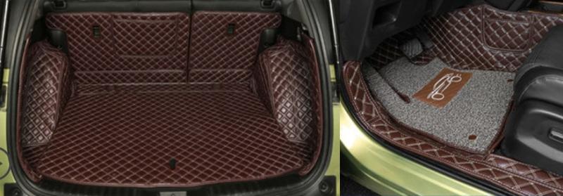 Комплект ковриков (полиуретан, коричневые) Honda CRV 2020-