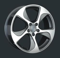 Диск колесный LS Replay A76 8xR18 5x112 ET41 ЦО66.6 серый глянцевый с полированной лицевой частью S022483
