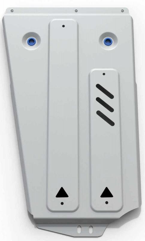 Защита раздатки, алюминий Rival 333.4011.3 для Mitsubishi Pajero IV 2006-