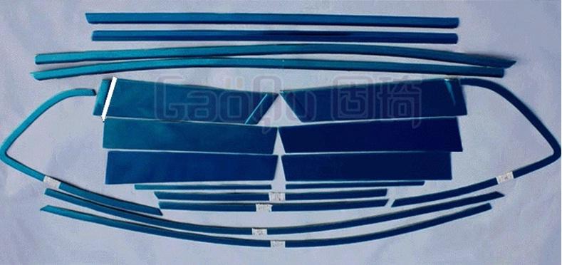 Хромированные накладки на окна для Mazda CX-5 (2011 - 2015) хромированные накладки на нижнюю часть боковых зеркал chn для mazda cx 5 2017
