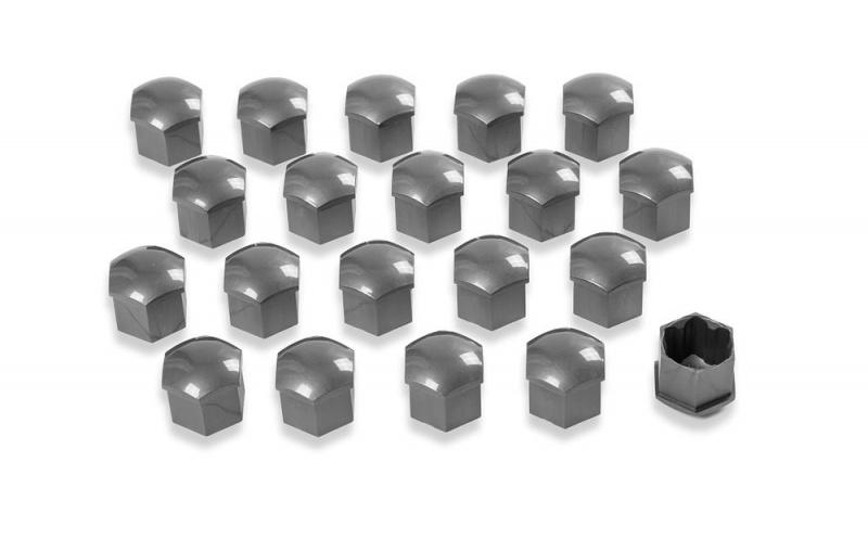 Колпачки на колесные болты (серый глянец) 1Z0071215UZ7 для Skoda Rapid 2020 -