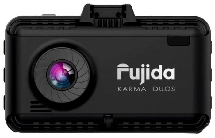 Видеорегистратор с радар-детектором Fujida Karma Duos (2 камеры, GPS, ГЛОНАСС) радар детектор fujida magna